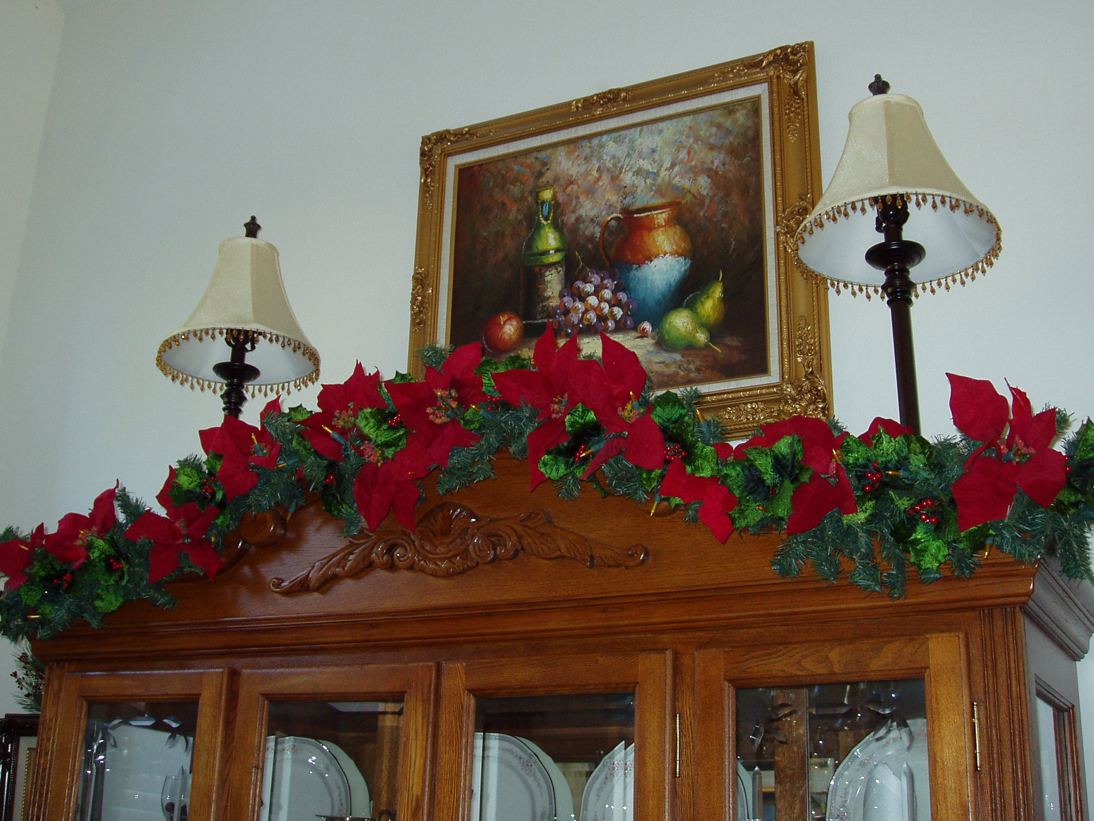 Christmas decorations from past years   The Enchanted Manor