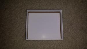 Christmas Shadowbox - bottom of box 1
