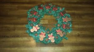 Gingerbread Men wreath - final 1