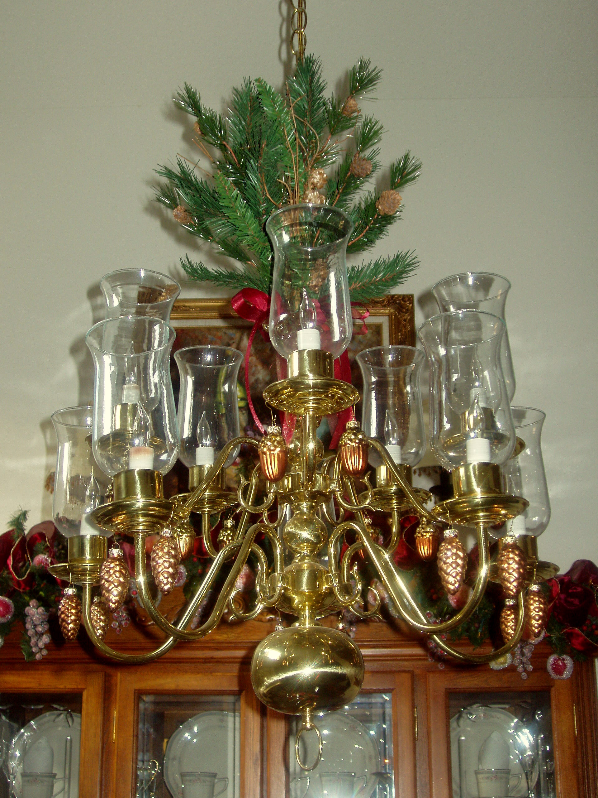 Camera christmas ornaments - Olympus Digital Camera