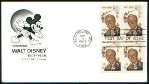 Walt Disney stamp