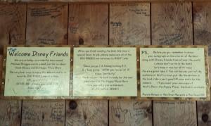 Walt's Barn - interior