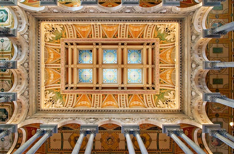 The Art Of The Jefferson Building Of The Library Of