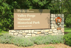 Valley Forge sign