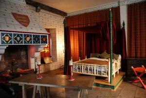 King Edward I bedchamber