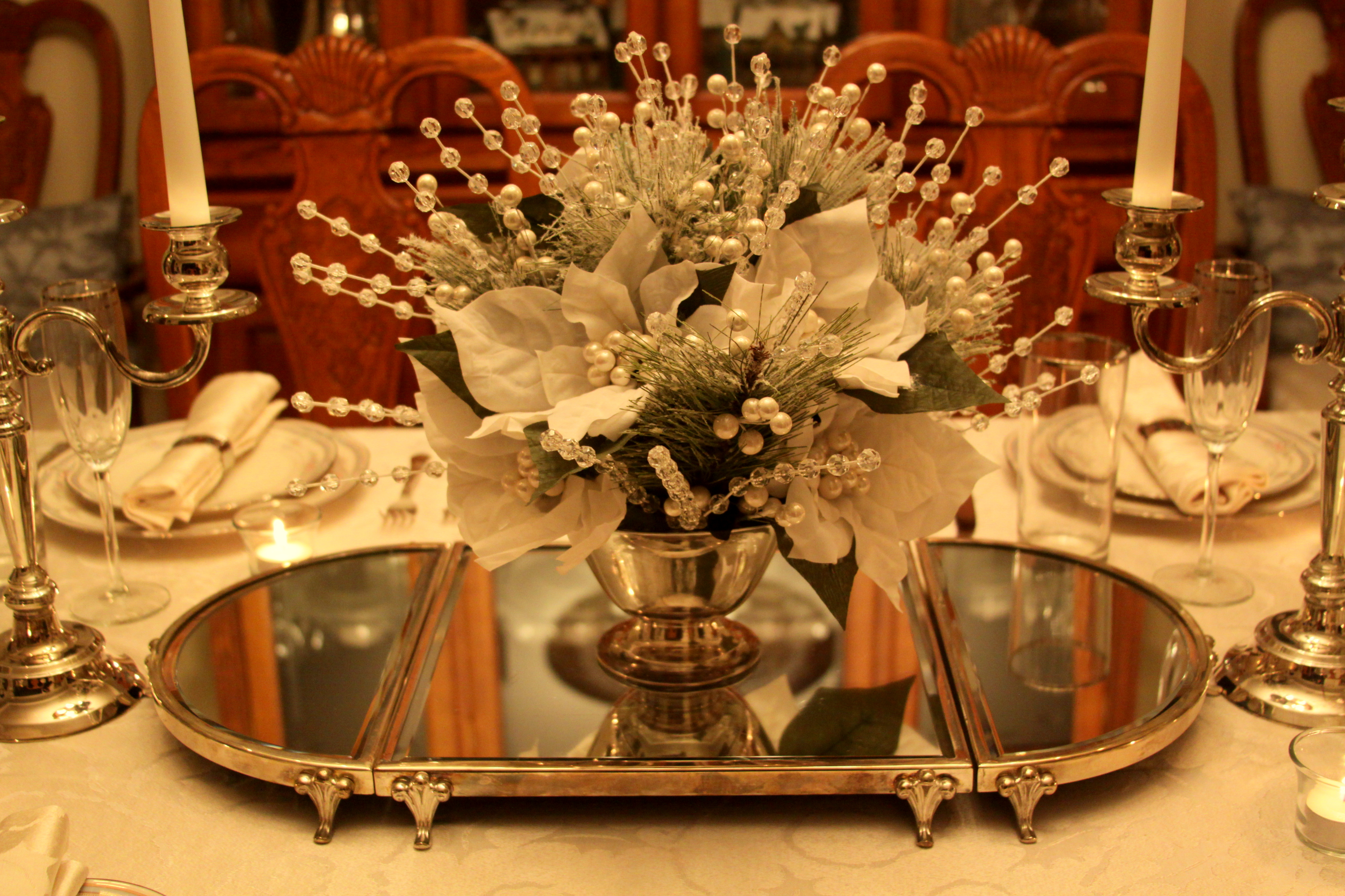 Decorating A China Cabinet For Spring The Enchanted Manor