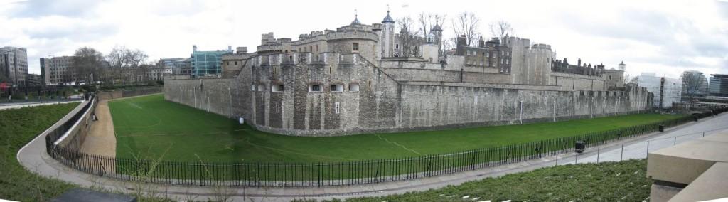 Tower of London - panorama