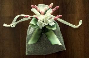 Floral sachet 1 - finished