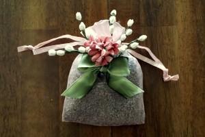 Floral sachet 2 - finished