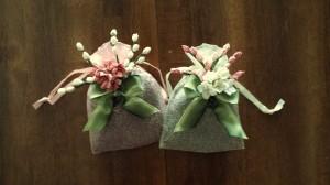 Floral sachets