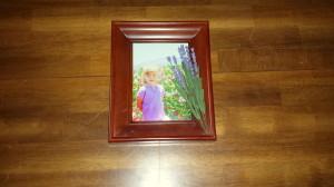 Framed florals - lavender - final