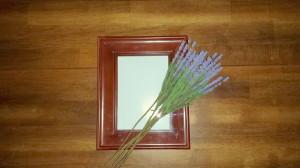 Framed florals - lavender - supplies