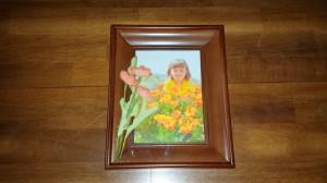 Framed florals - poppies - final
