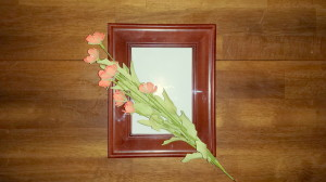 Framed florals - poppies - supplies