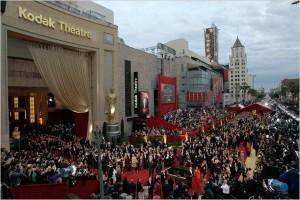 Kodak Theatre - red carpet