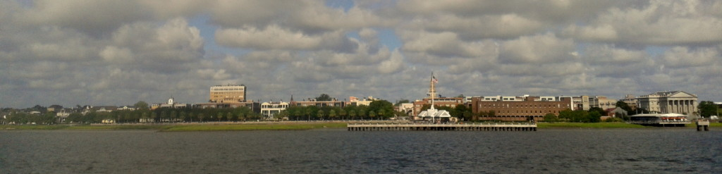 Charleston, SC from the harbor