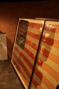 Fort Sumter's original US flag