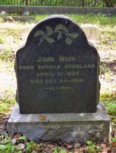 John Muirs grave