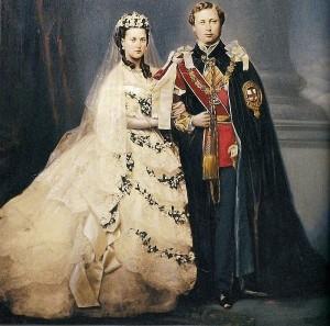 Prince Albert and Princess Alexandra