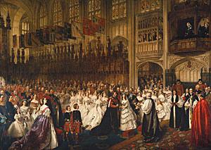 Prince Albert and Princess Alexandra wedding