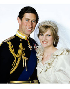 Prince Charles and Dian Wedding 1
