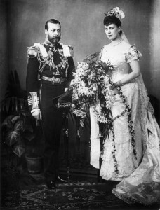 Prince George and Mary of Teck