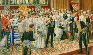 Prince George and Mary of Teck wedding 1