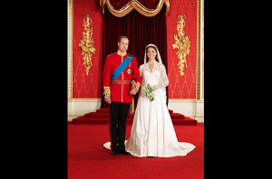 Prince WIlliam and Catherine wedding 1