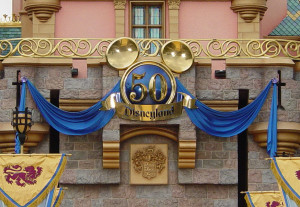 50 Mickeys #19  Castle front a