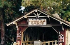 Country Bear exterior