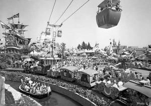 Fantasyland circa 1955