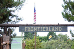Frointerland sign