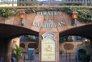 Pirates entrance 1999