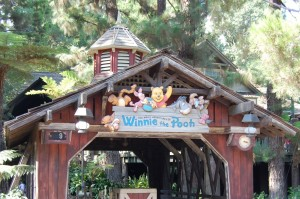Winnie the pooh exterior