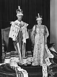 King George and Queen Elizabeth coronation
