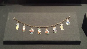 Snow White charm bracelet