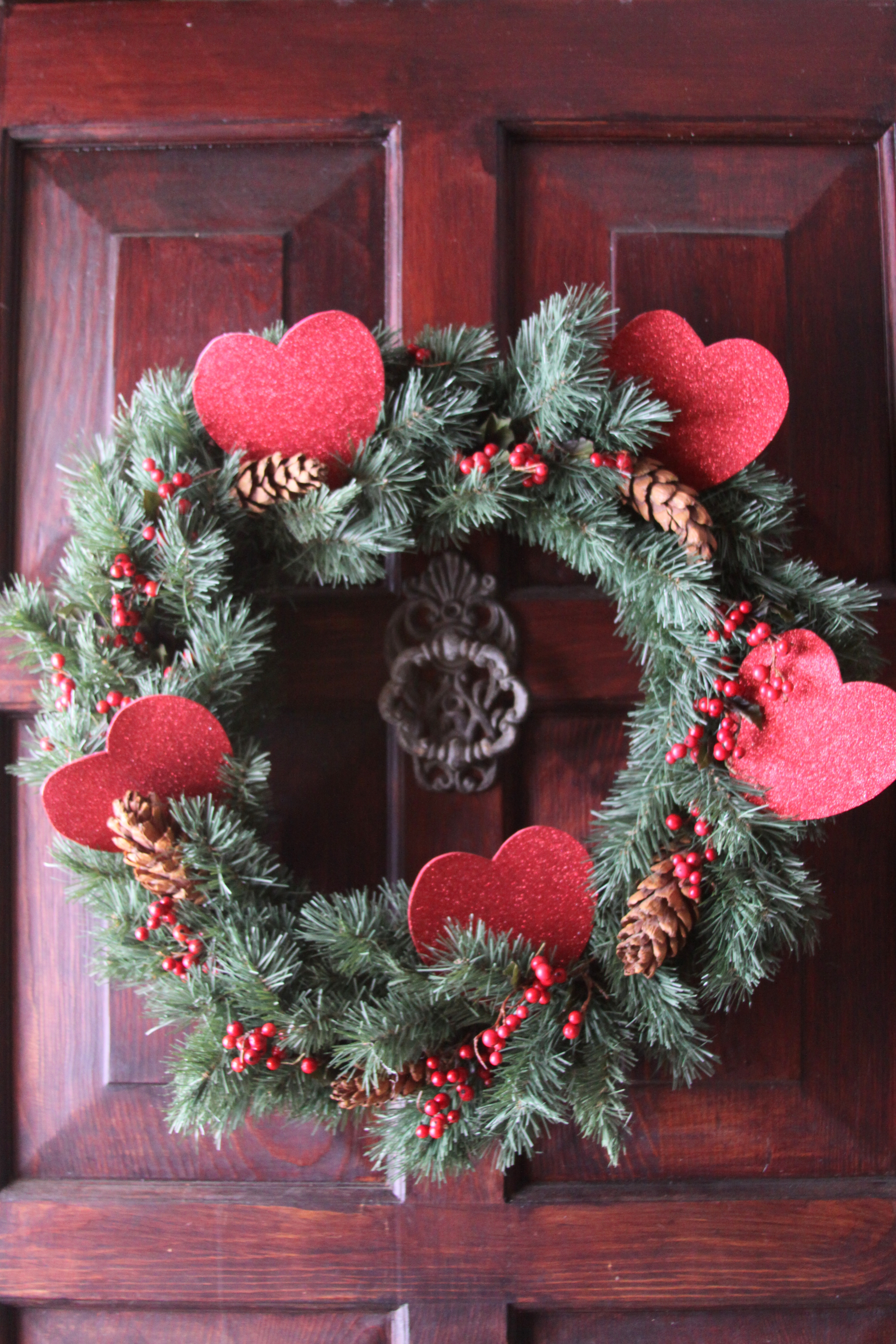Valentine S Day Wreath The Enchanted Manor