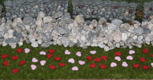 2012 Valentine's Day Boyd's Bear Village closeup