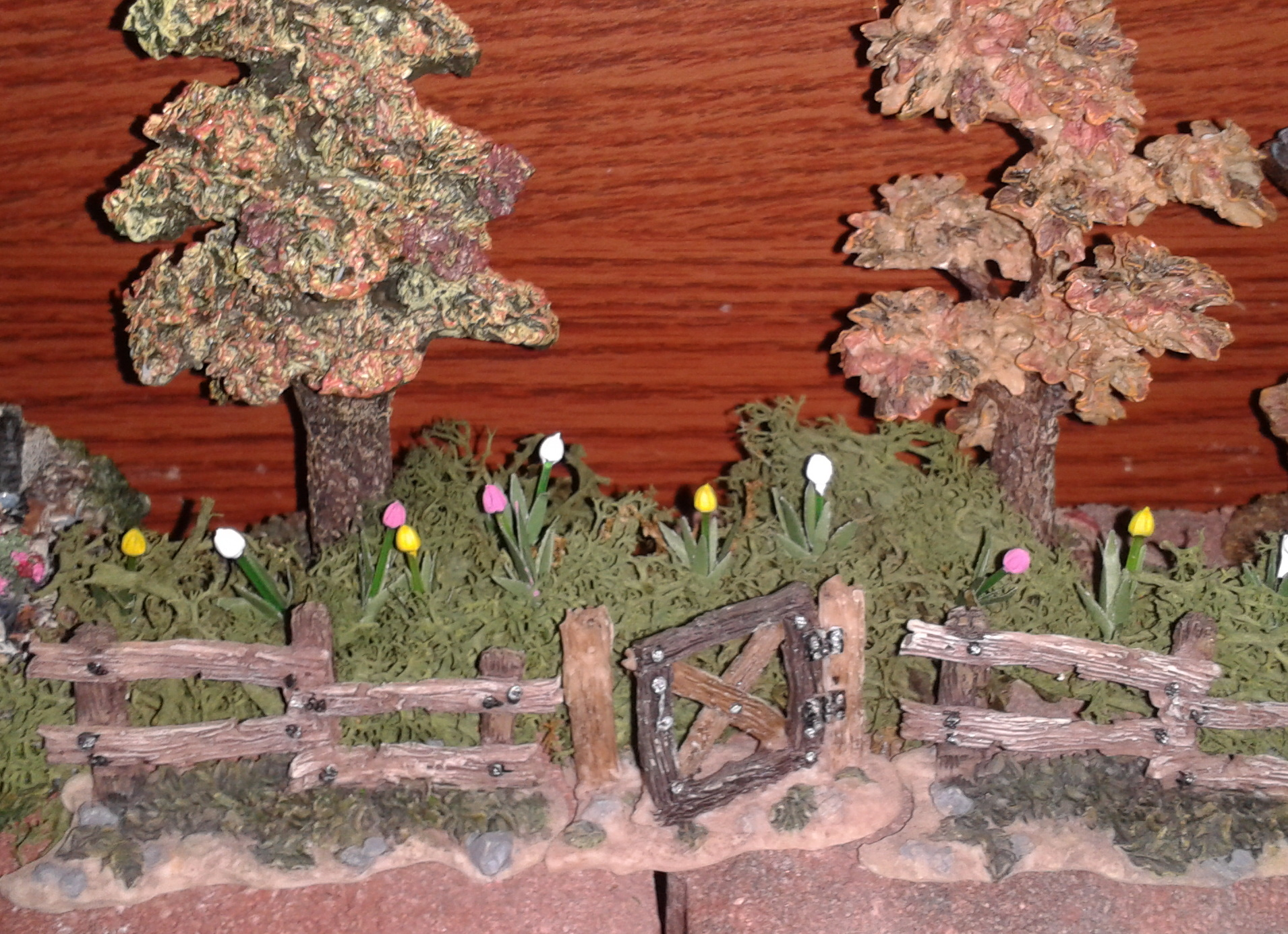 Decorating Ideas > Setting Up A Boyds Bear Village Display  The Enchanted Manor ~ 075812_Thanksgiving Village Decorations