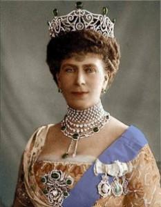 Delhi Durbar Tiara worn by Queen Mary