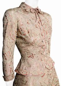 Grace Kelly civil ceremony dress 2
