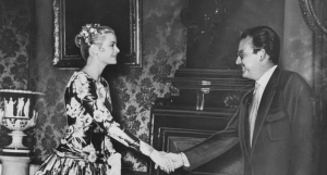 Grace Kelly first meeting with Prince Rainier