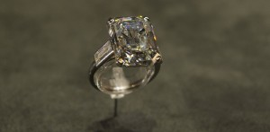 Grace Kelly's Cartier engagement ring