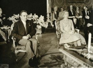 Wedding of Prince Rainer and Grace Kelly - civil ceremony