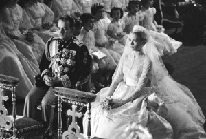 Wedding of Prince Rainer and Grace Kelly - religious service