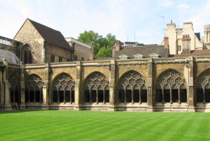 Westminster Abbey Cloister - exterior
