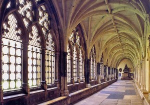 Westminster Abbey Cloister - interior