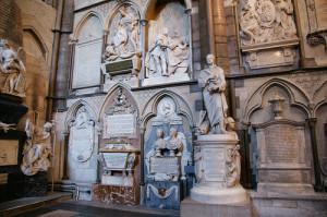 Westminster Abbey - Poet's Corner 2