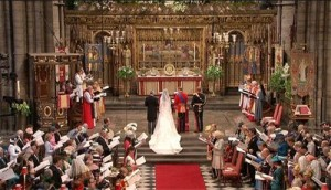 Westminster Abbey - Prince William and Kate Middleton 1