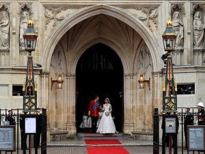 Westminster Abbey - Prince William and Kate Middleton 2
